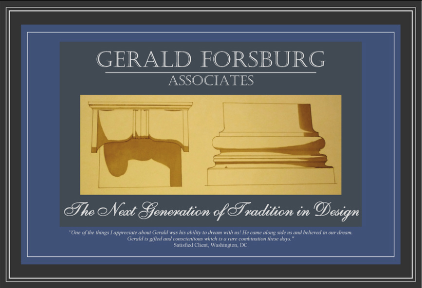 Gerald Forsburg Associates, The Next Generation of Tradition in Design